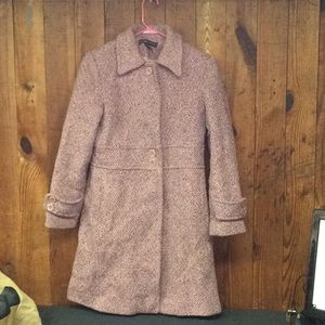 Pink Wool New York and Company Jacket